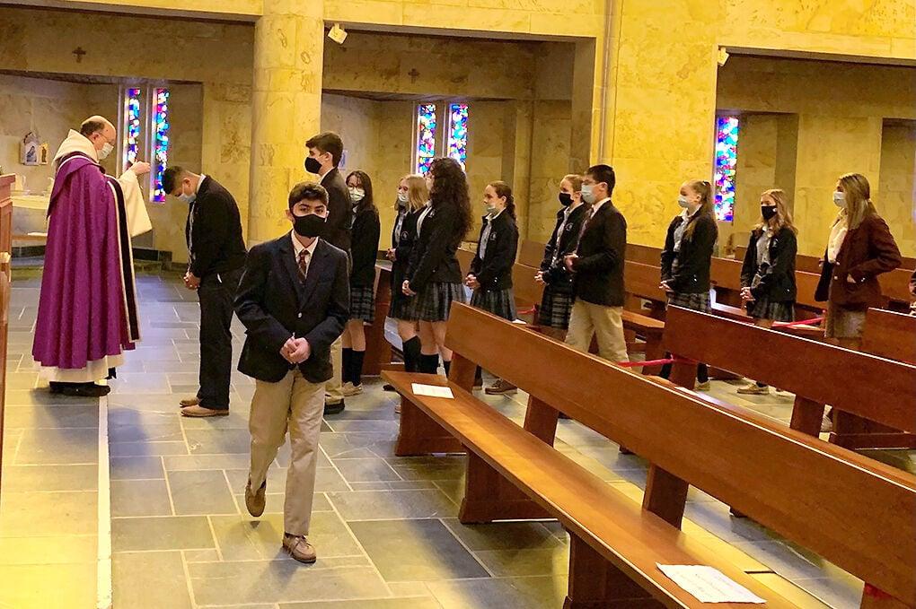 Ash Wednesday ay St. Bernard