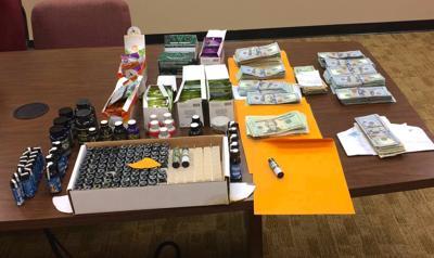 Kratom Seizure and cash seized
