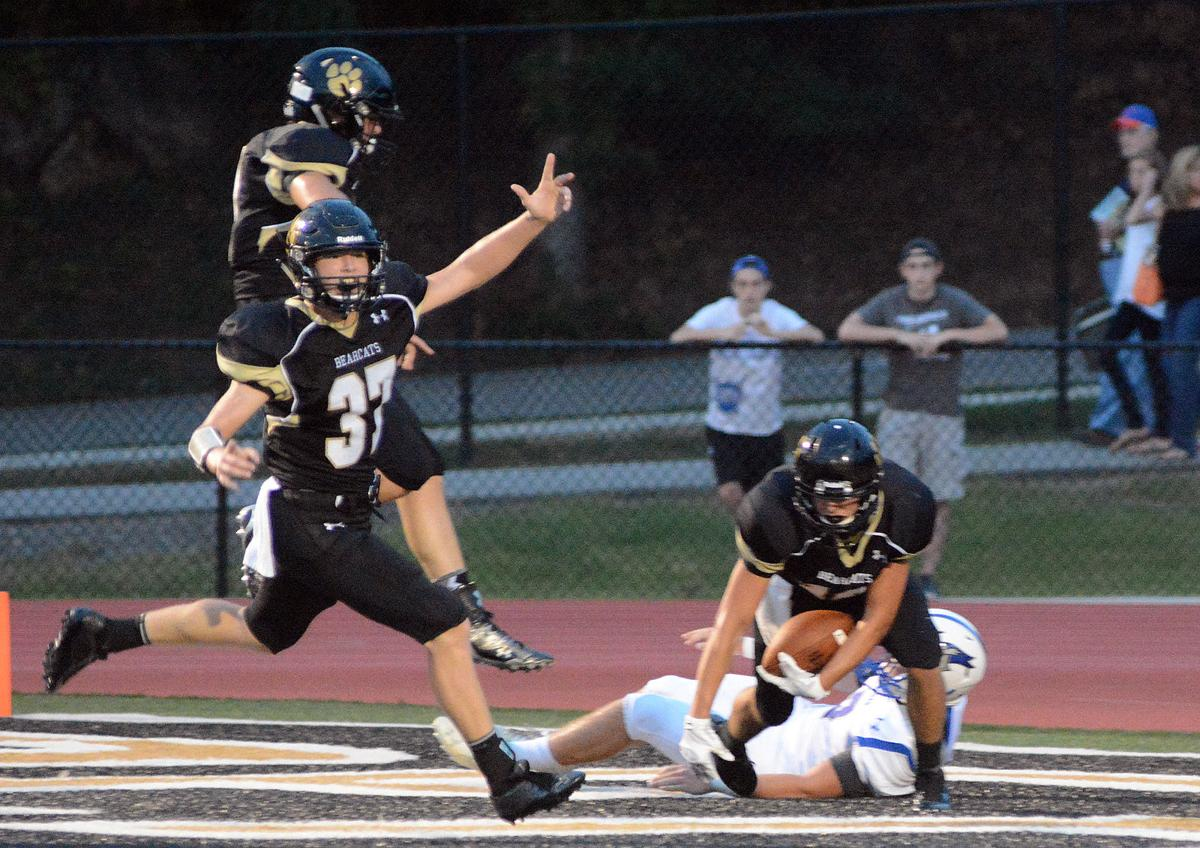 1e8c4eca6d5 PREP FOOTBALL: Bearcats pay Arab back for 2014 defeat with 56-7 rout ...