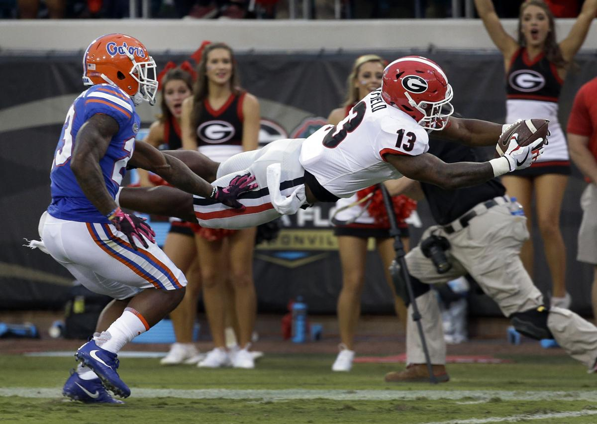 APTOPIX Georgia Florida Football