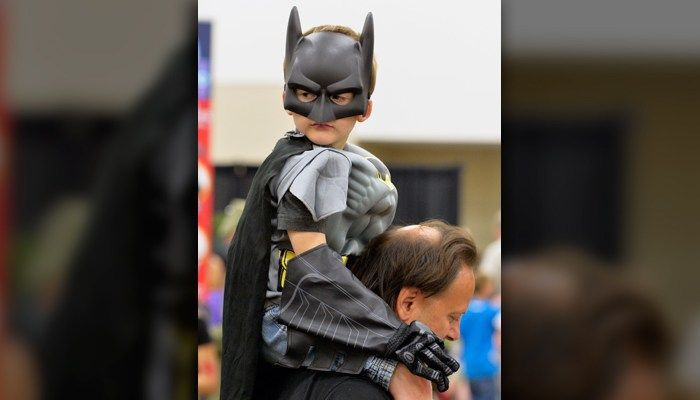 Kids work harder when dressed like Batman, study says