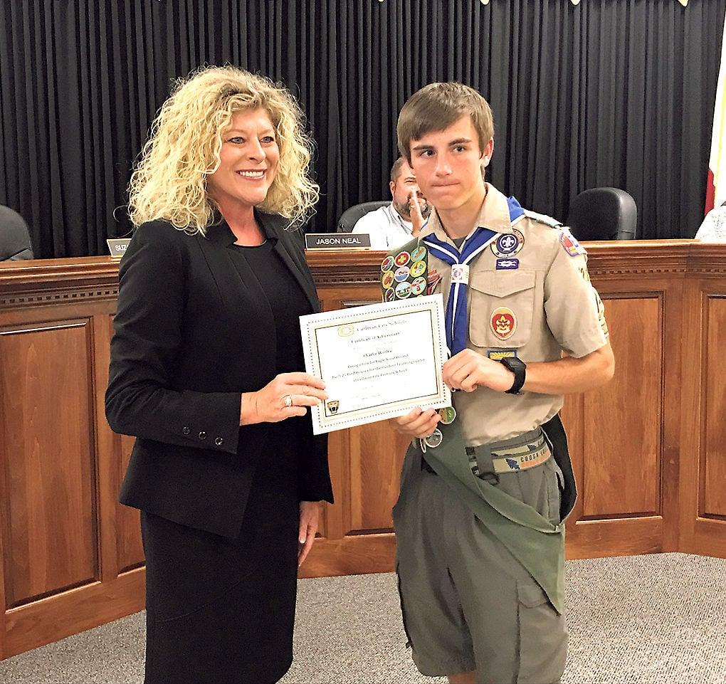 City Schools Eagle Scout