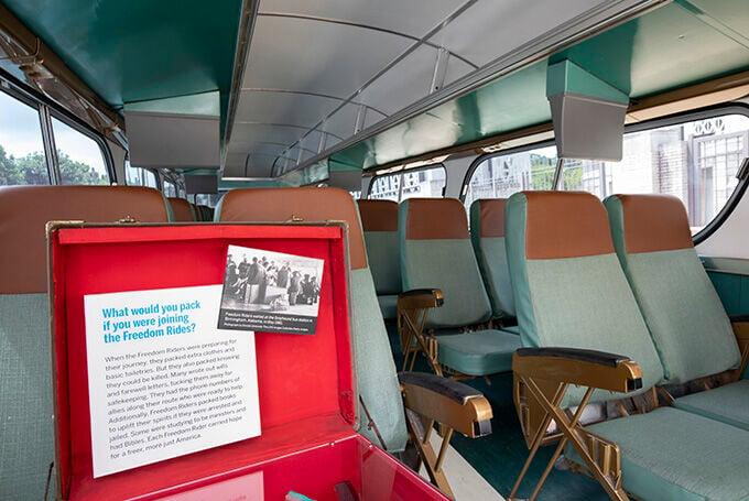 Freedom Rides bus exhibit