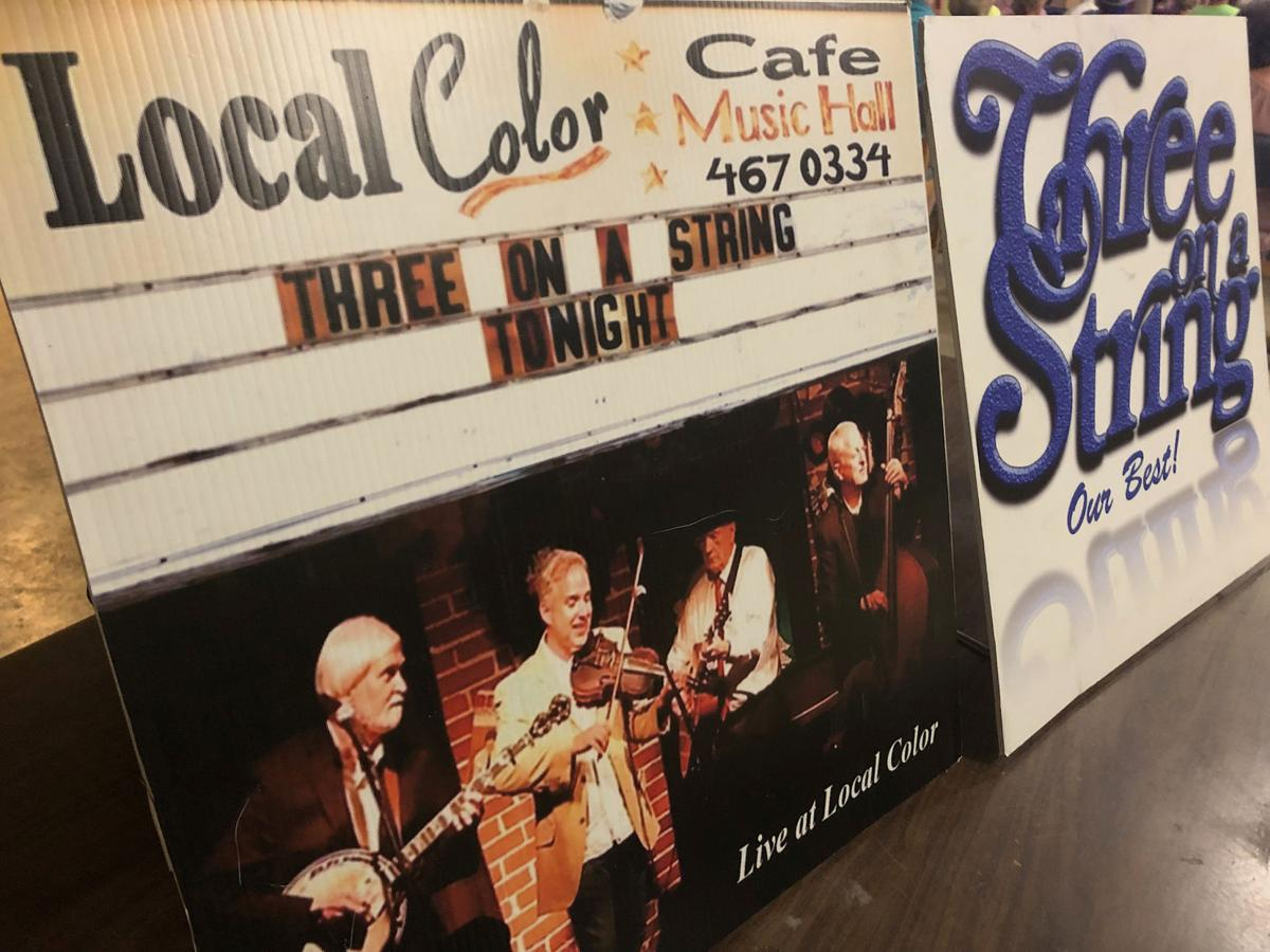 Three on a String at the Hanceville Civic Center