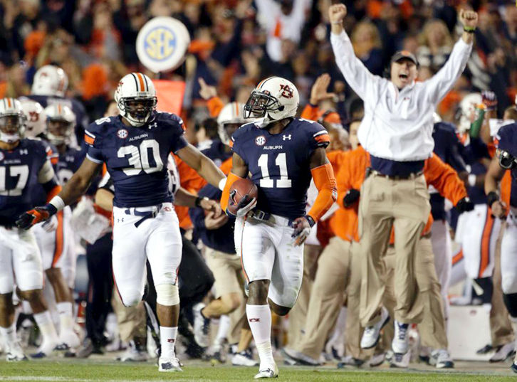 Iron Bowl Kick Six Still Fresh For Alabama Auburn Sports Cullmantimes Com