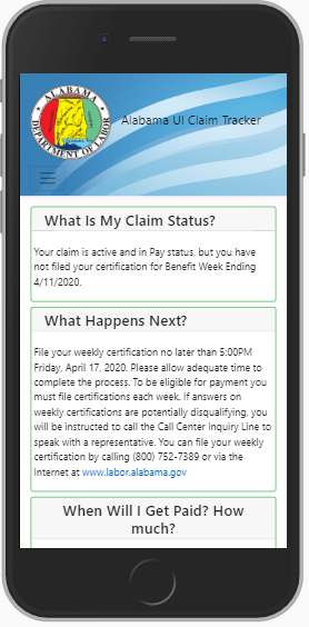 State offers online tracking of unemployment claims