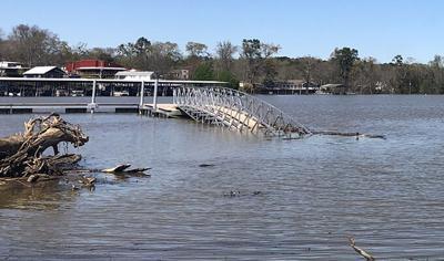 Smith Lake water rising
