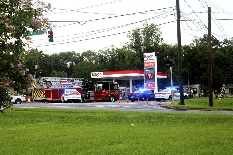 Firefighters, police officer injured in accident