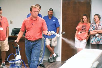 Cullman County Schools custodial staff members