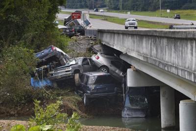 APTOPIX Tennessee Flooding