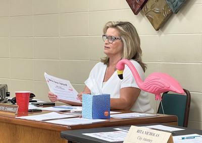 Good Hope City Clerk Christie Chamblee