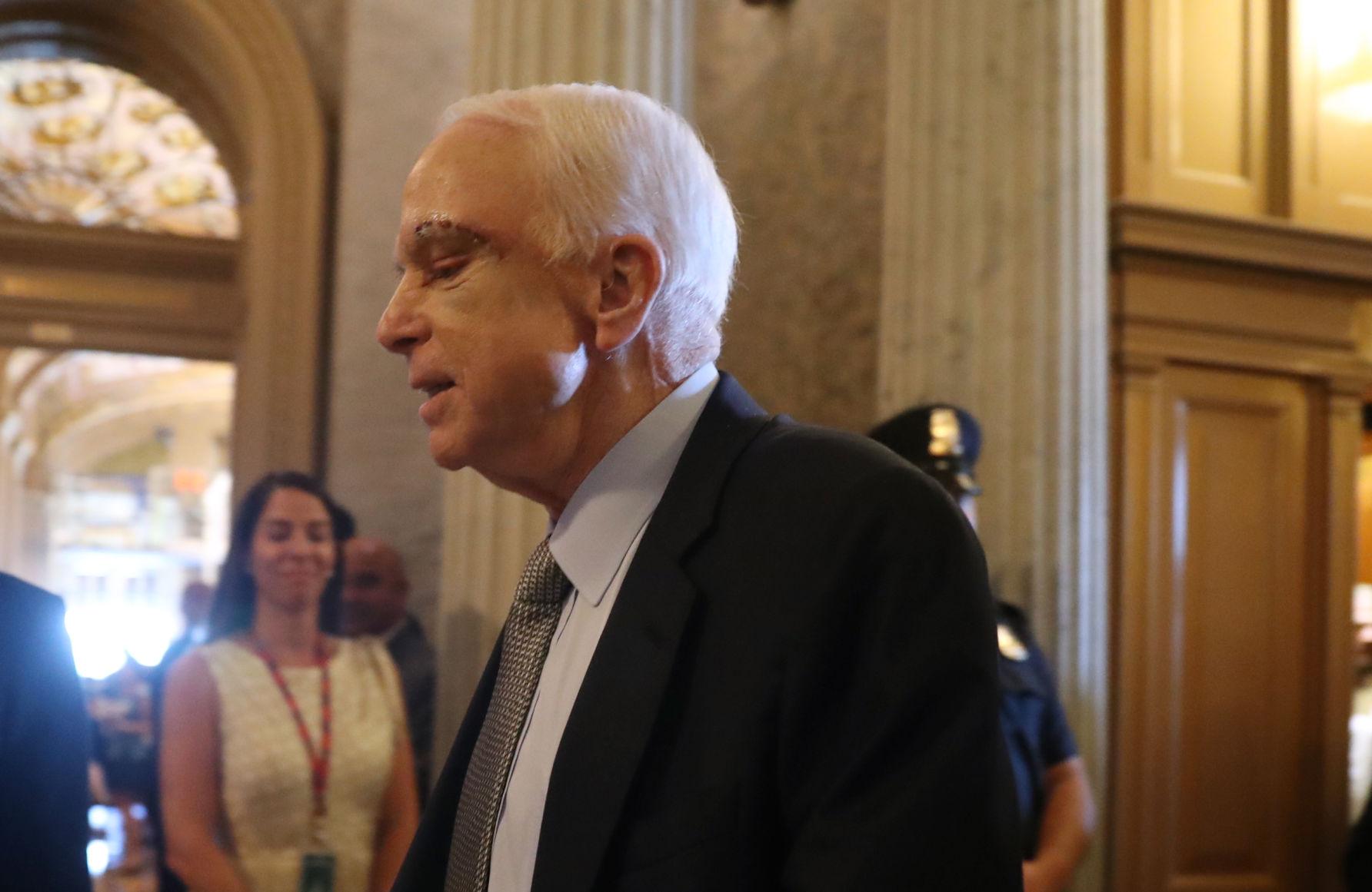 John McCain to return to Senate Tuesday for health care vote