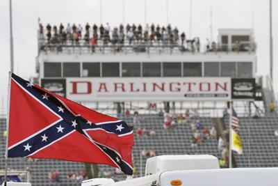 NASCAR Confederate Flag Auto Racing