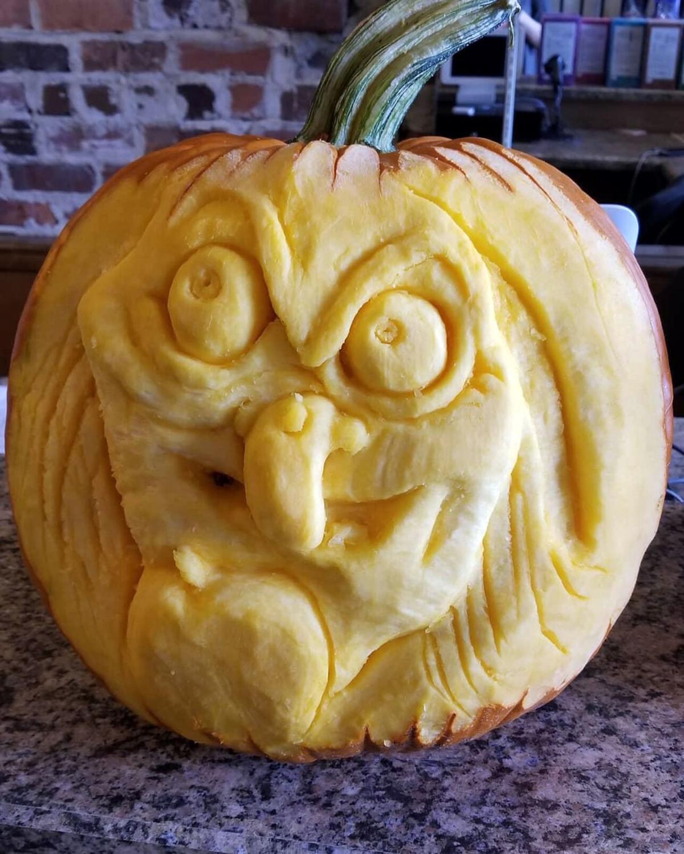 Pumpkin Evil Queen