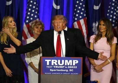 Donald Trump wins South Carolina primary