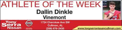Vinemont's Dallin Dinkle