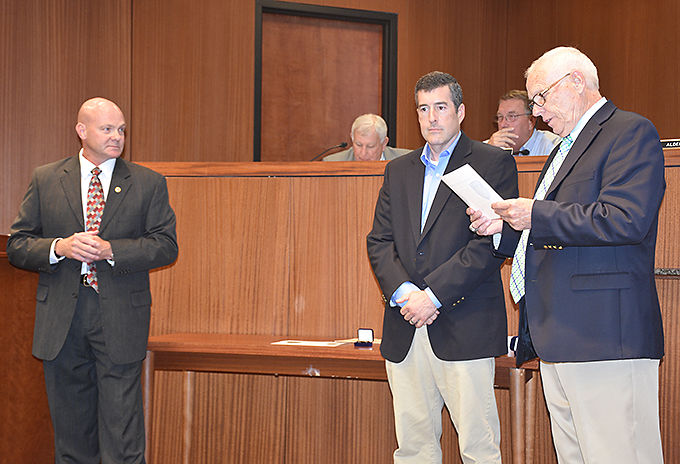 Lt. David Nassetta recognized