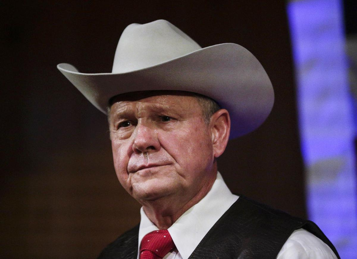 Trump offers full support for embattled Republican Roy Moore