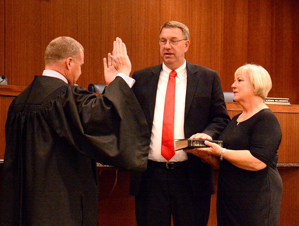 Jacobs Sworn In As Cullman Mayor News Cullmantimescom