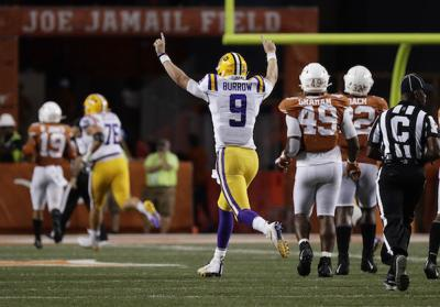 LSU Texas Football