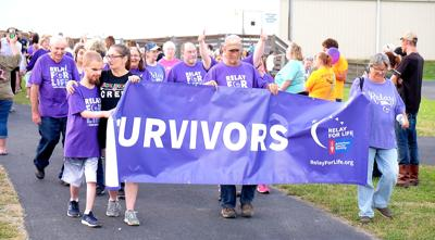 Survivors' Walk at the 2019 Relay for Life