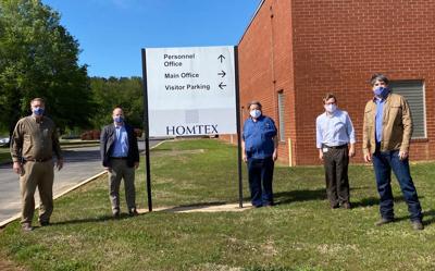Ainsworth visits HomTex