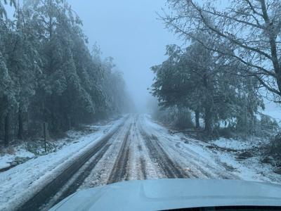 Winter weather 2021 road conditions