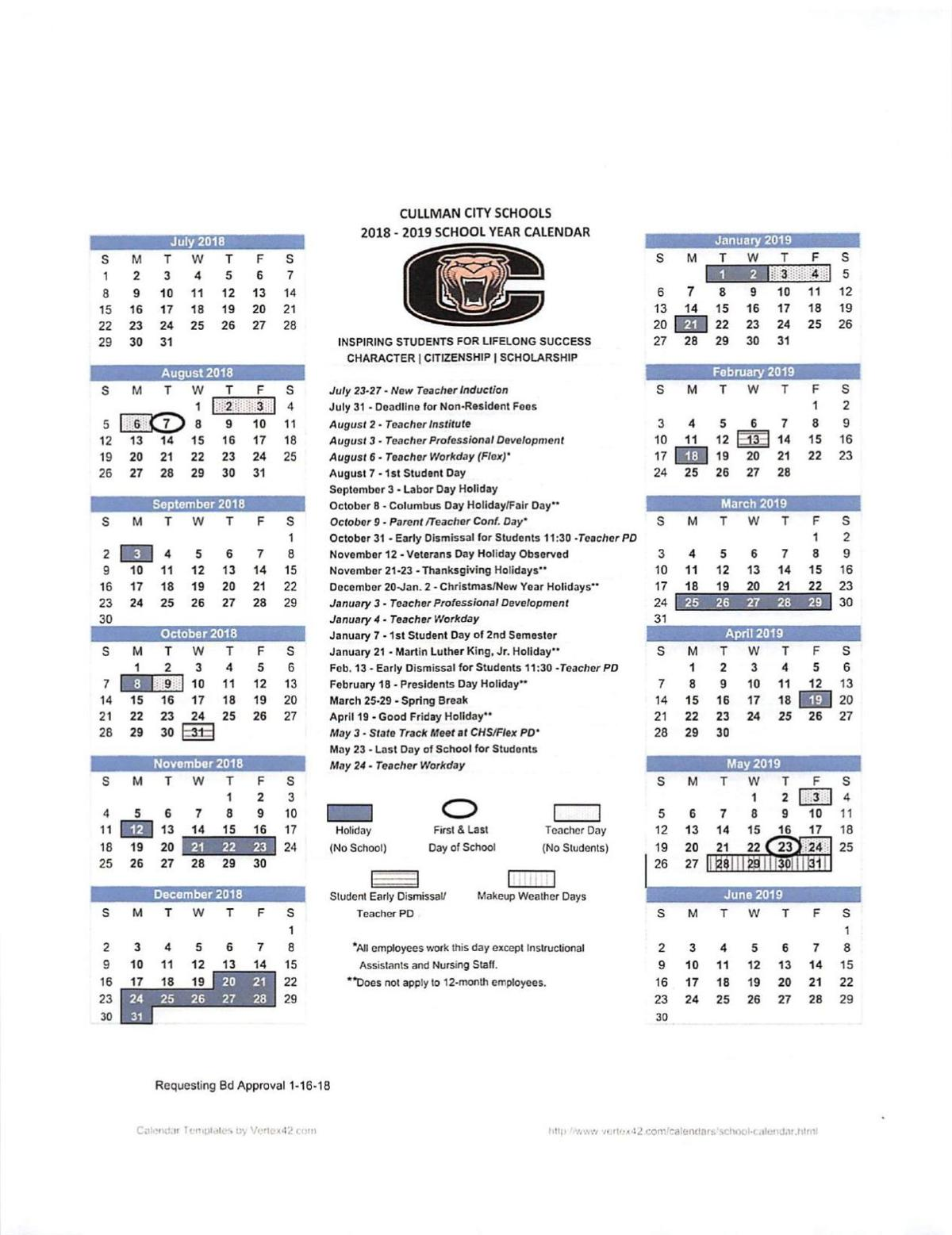 download pdf cullman city schools 2018 2019 academic calendar