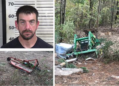 Addison man in jail over stolen tractor