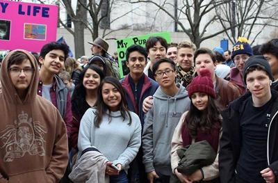 SBP students attend March for Life