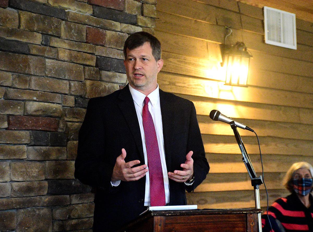 Cullman County Schools Superintendent Shane Barnette