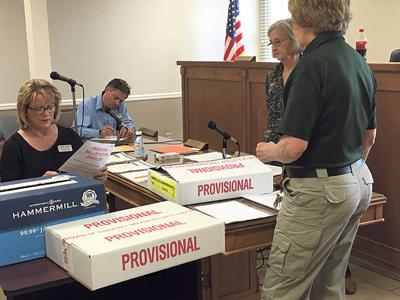 County provisional ballots counted