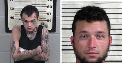 High speed Hanceville chase yields two arrests; CCSO patrol vehicle struck