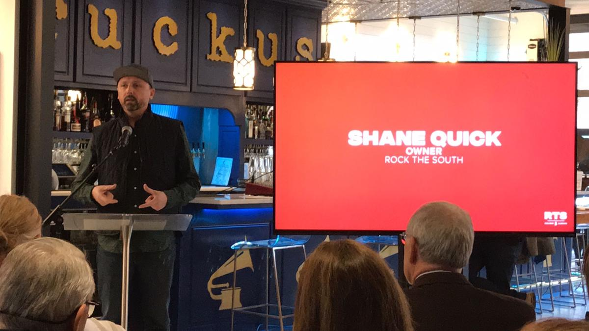 Shane Quick at press conference