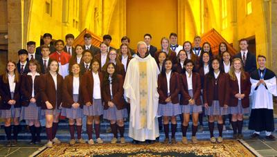 Saint Bernard Preparatory School honors seniors
