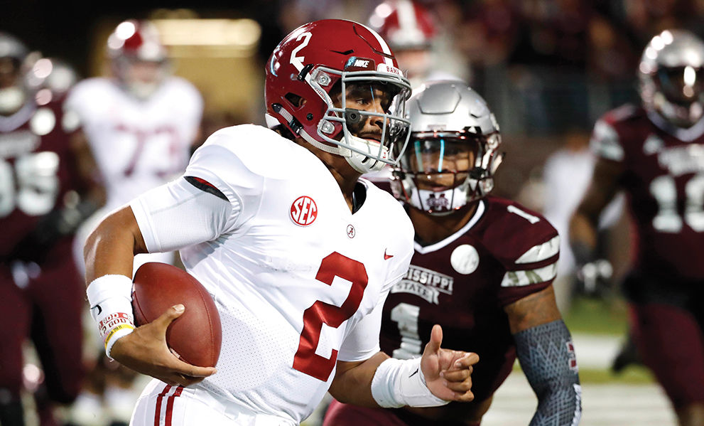 buy online 978a0 5622a ALABAMA FOOTBALL: Late TD lifts No. 2 Tide against No. 16 ...