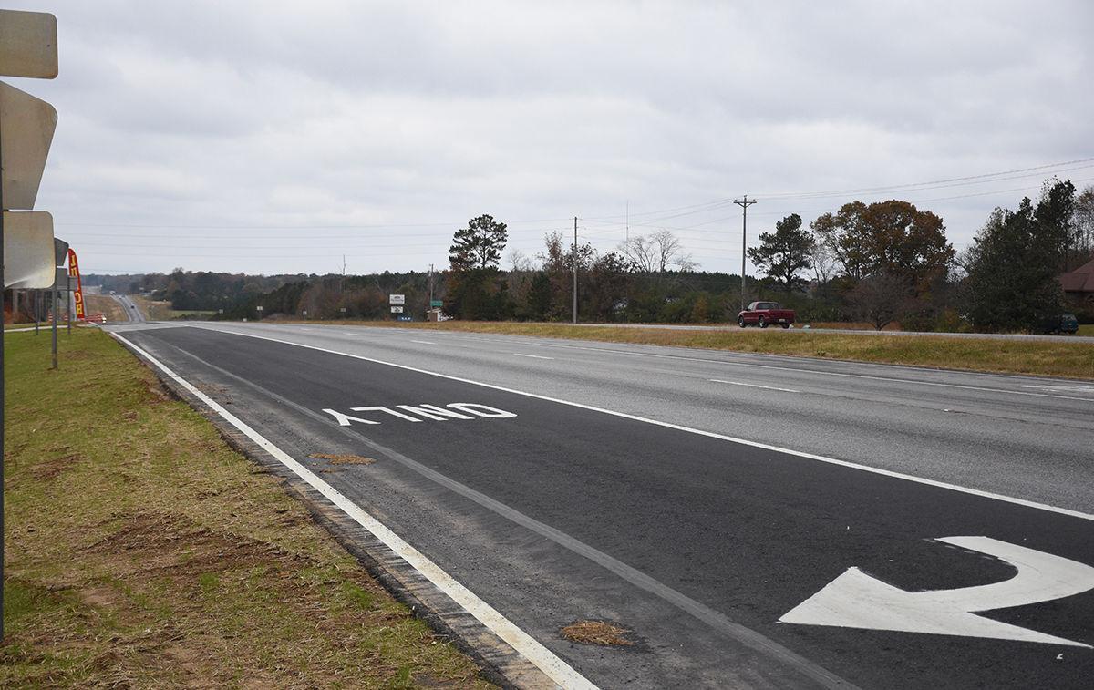 West Point turn lane