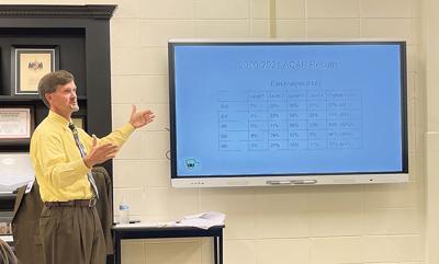 Cullman City Schools Superintendent Kyle Kallhoff