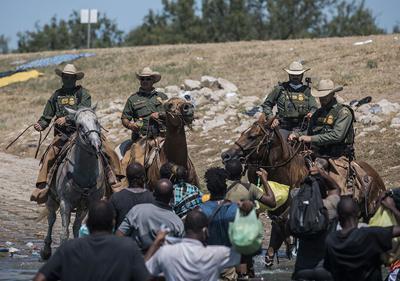 Mexico Border Migrant Camp