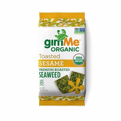 gimMe Snacks Organic Roasted Seaweed