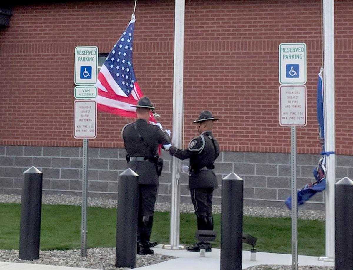 State Police ribbon cutting