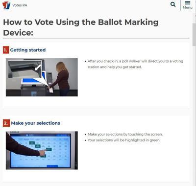 Votes PA screenshot