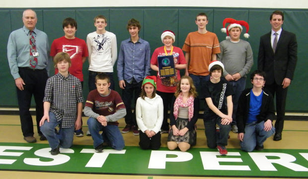 West Perry geography bee