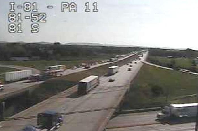 Crash affecting traffic on I-81 at Middlesex exit | Carlisle ...