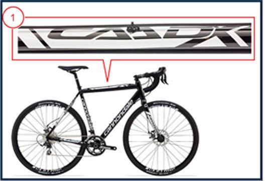 Recall CAADX bike