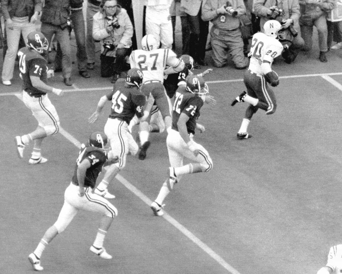 Nebraska Oklahoma Rodgers Run Football