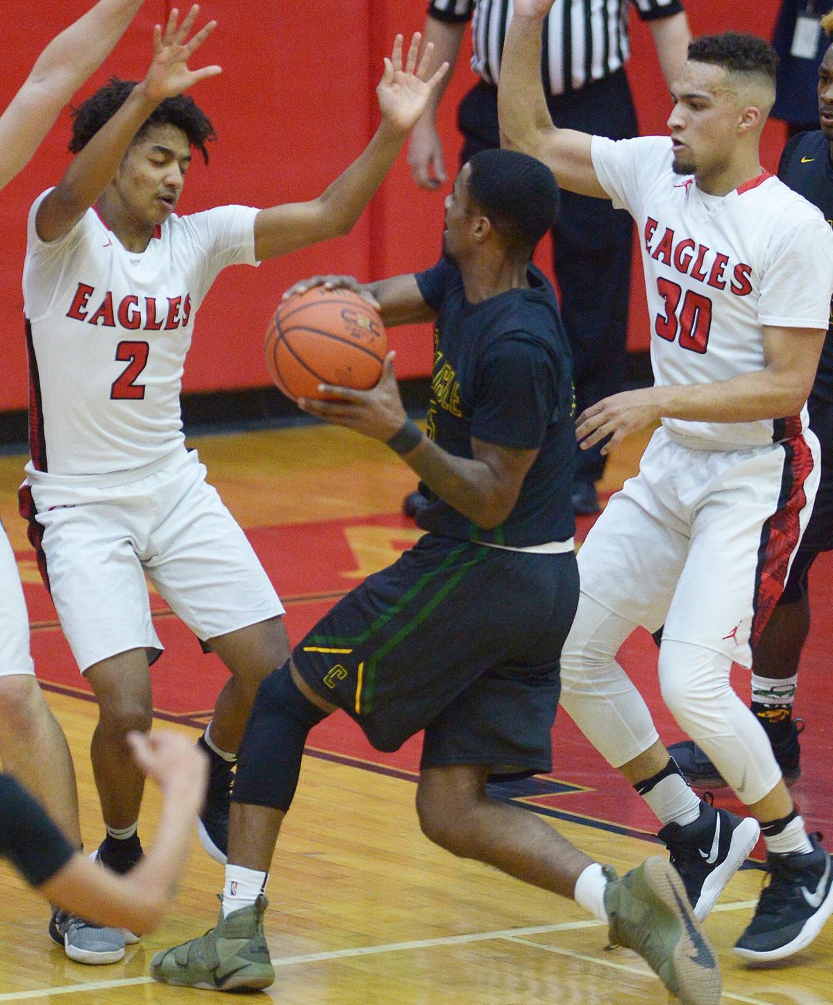 Boys Basketball: Carlisle at Cumberland Valley (copy)