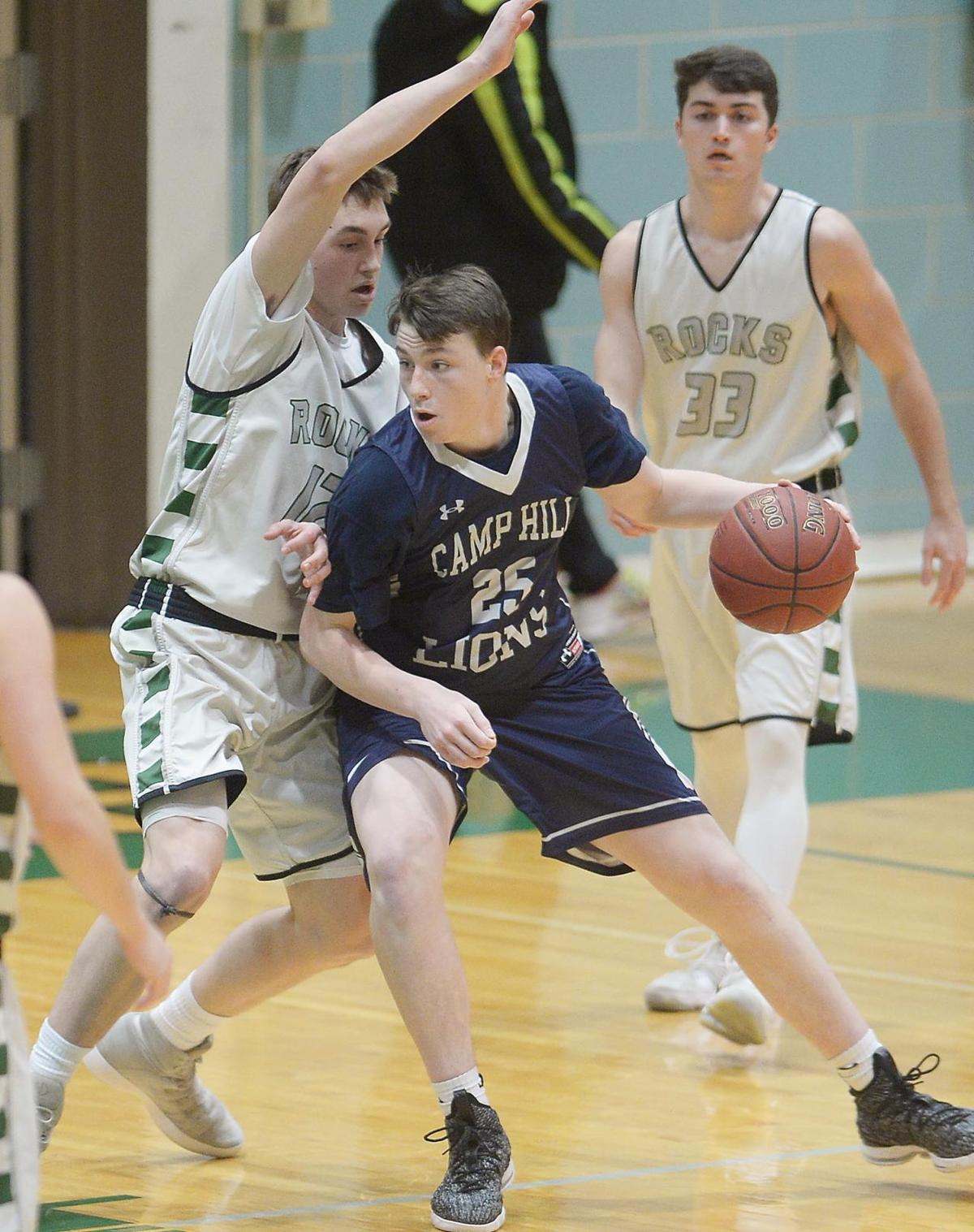 District 3 Boys Basketball: Camp Hill at Trinity