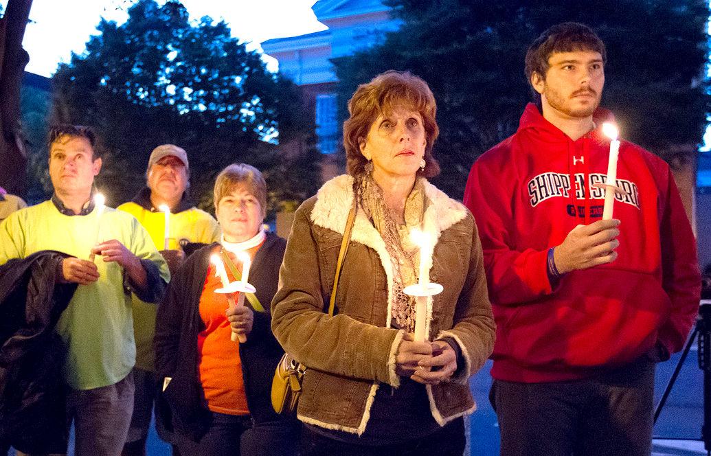 Mental Health Candlelight Vigil