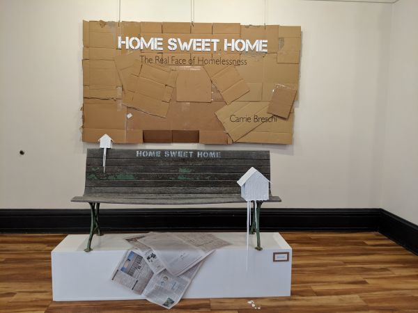 Homelessness exhibit